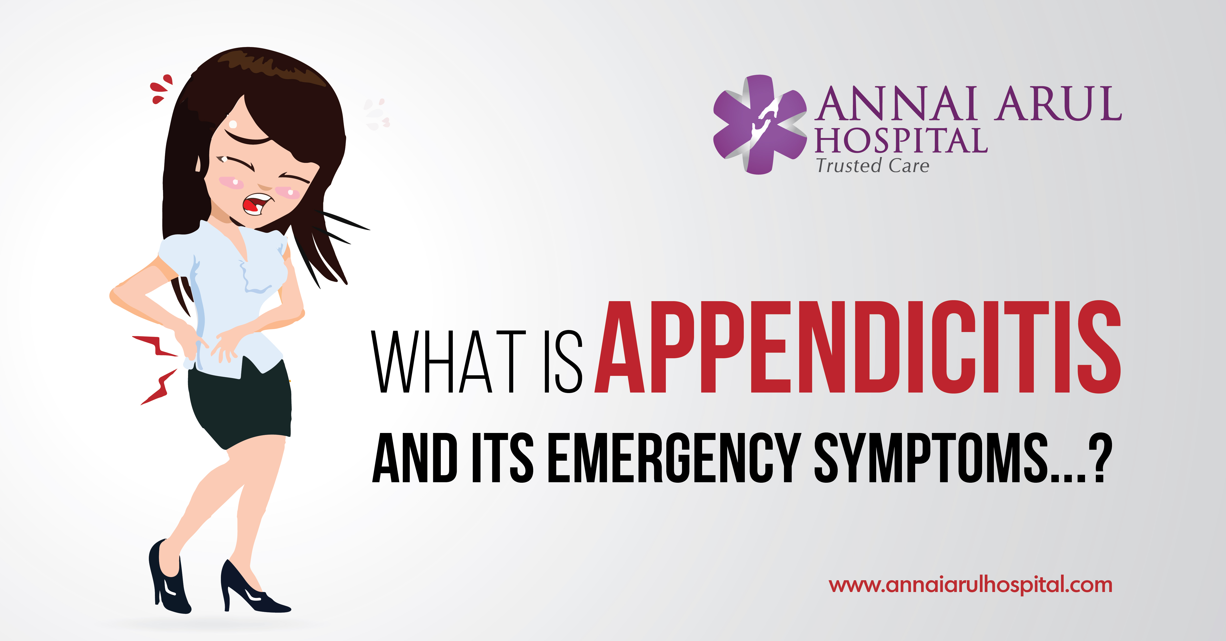 what is appendicitis and its emergency symptoms, Human Body